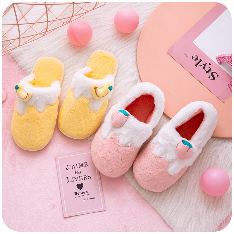 Fruit cotton slippers PL50009