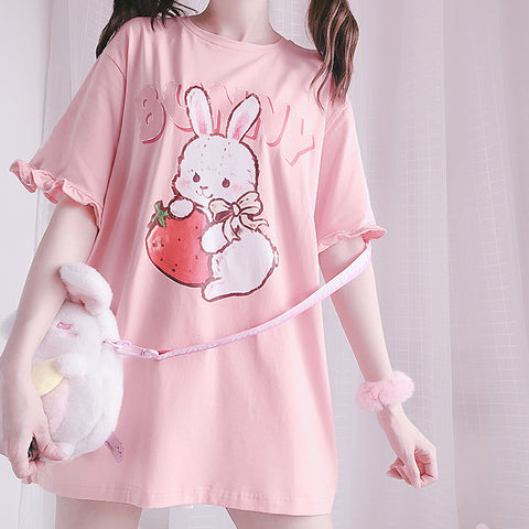 【Strawberry Rabbit】T-shirt PL50724