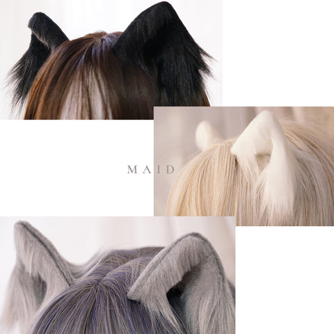 Detachable cat ear headband PL20996