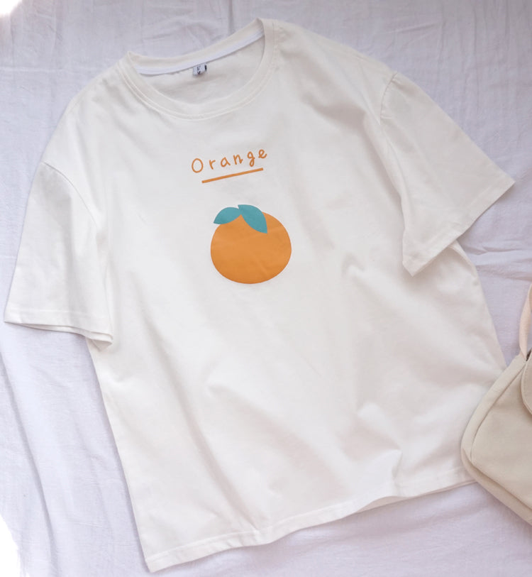 Orange Summer T-Shirt PL10199