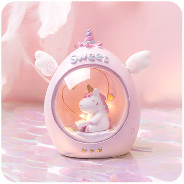 Unicorn unplugged night light PL21243