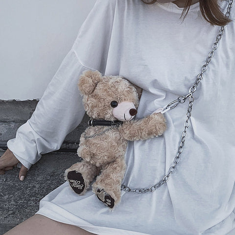 Cute bear bag PL50288