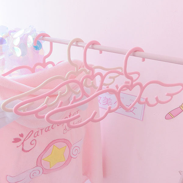 Love wings girl hanger 5 packs PL10181