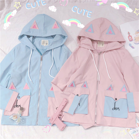 Cute Hooded jacket PL50083