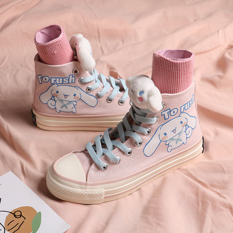 Ulzzang hand-painted canvas shoes PL50719