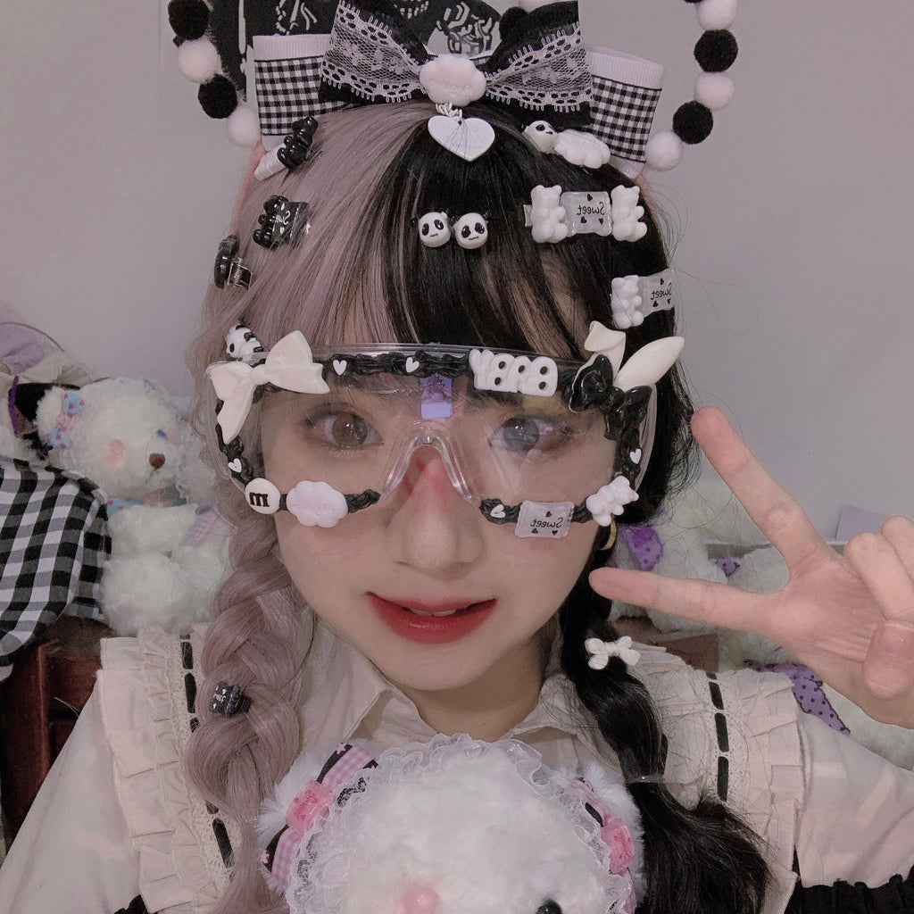 Cute lolita glasses PL50568