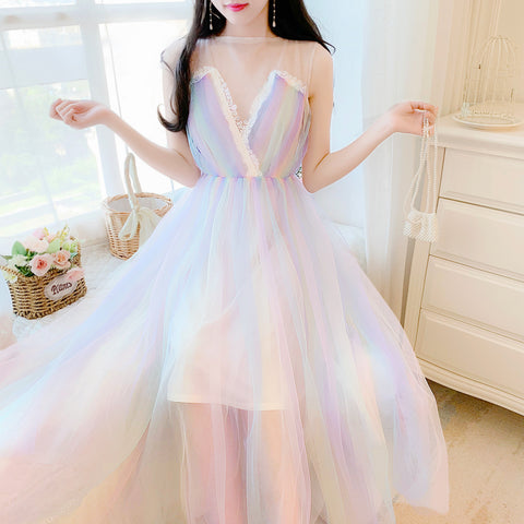 Sweet Rainbow Dress PL50420