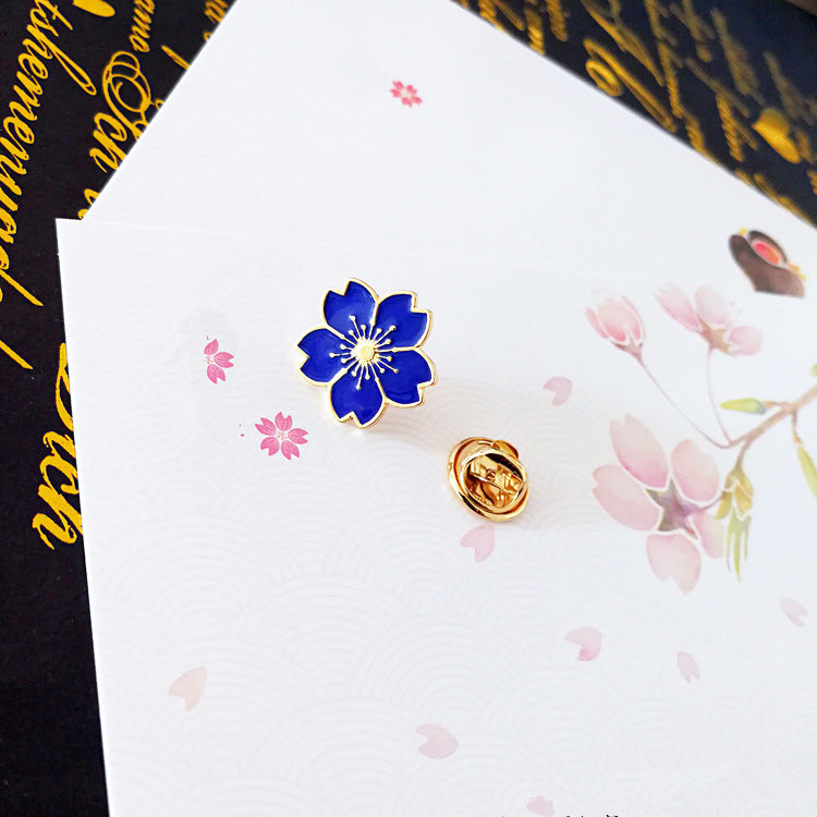 Girly cherry blossom brooch PL40042
