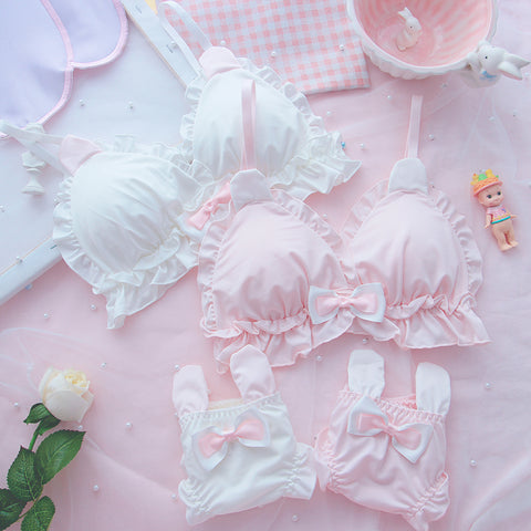 Cute rabbit ear underwear set PL50332