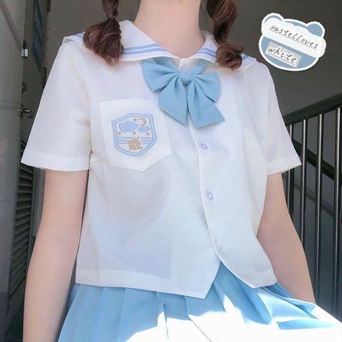 Cute JK short sleeve shirt PL51354