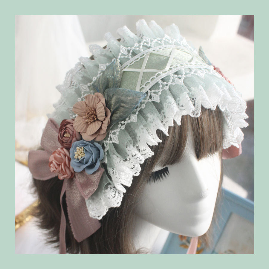 Lolita flower hair band PL21192