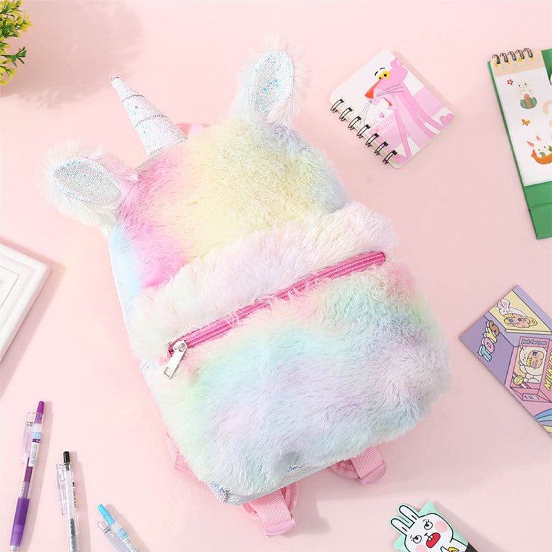 Lolita Unicorn Plush Backpack      PL20141