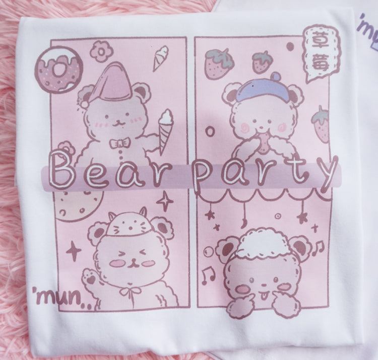 Cute bear T-shirt PL50401