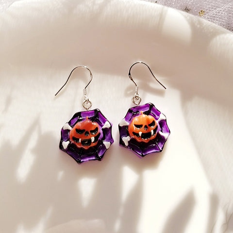 Halloween Fun Pumpkin Earrings PL40002