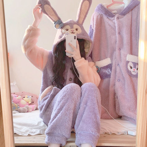 Purple Bunny Pajamas PL50872