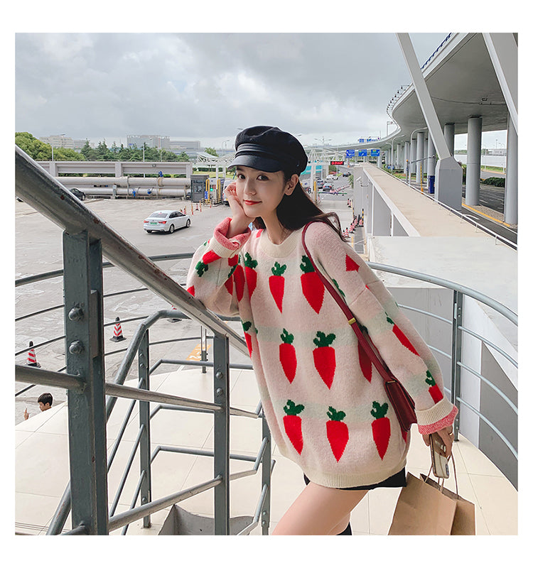 Fashion carrot sweater PL40011