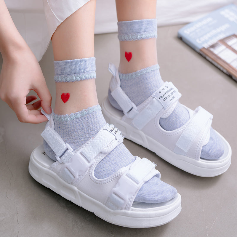 Cute love socks PL50446