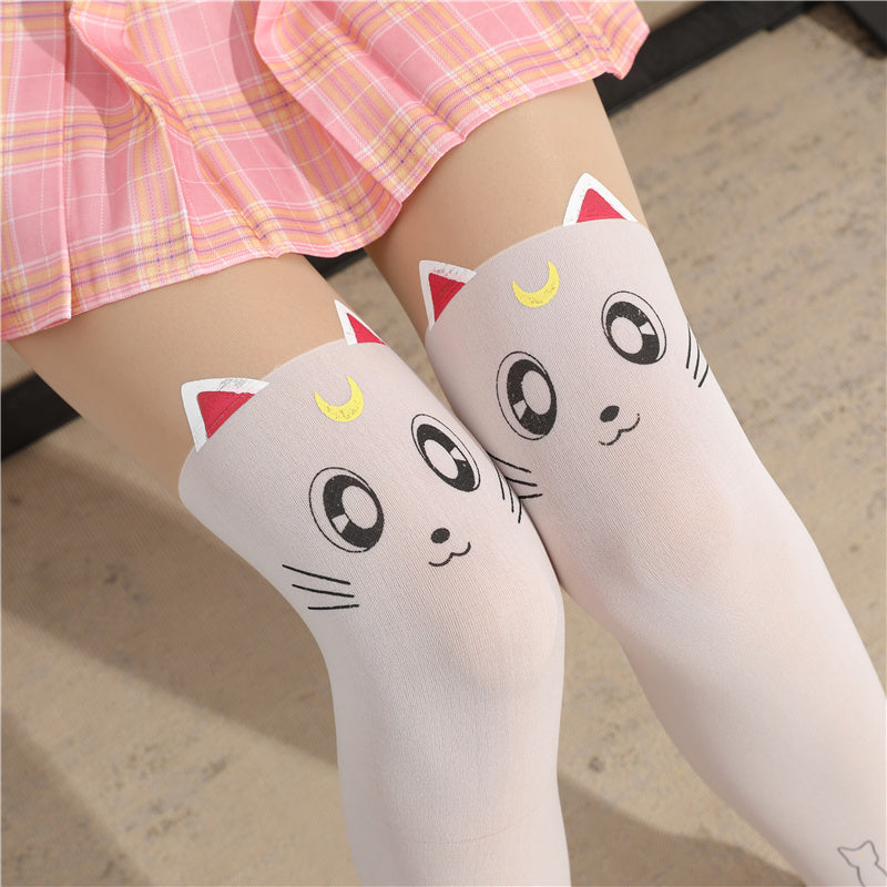 Lolita stitching socks PL20572