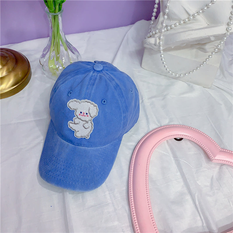 Bear embroidery baseball cap PL21093
