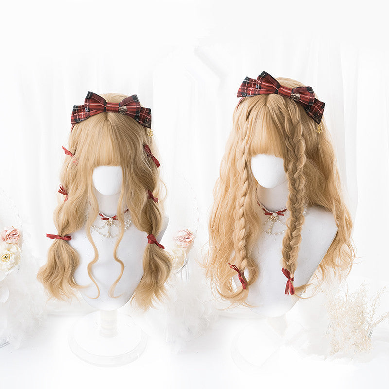 Lolita brown wig PL20299