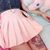 Lolita love buckle skirt    PL20160