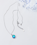 Aurora s925 silver necklace PL20332