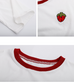 Embroidered stitching T-shirt  PL20411