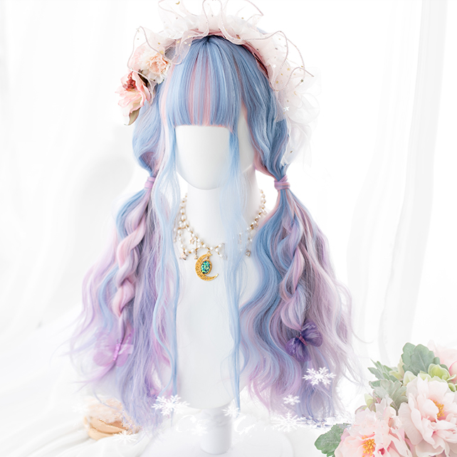 Lolita mixed color wig PL20542