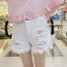 Kawaii pink shorts PL10335