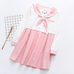 Rabbit ear short sleeve dress    PL20053