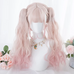 Lolita gradient wig + tiger mouth clip  PL20714