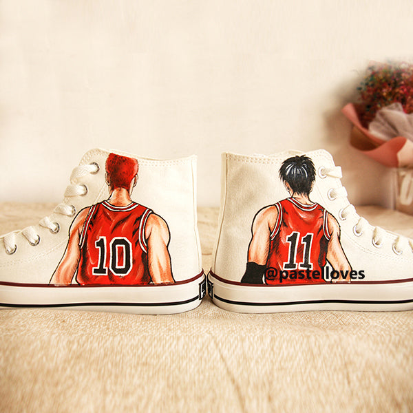 Pastelloves Slam Dunk Handmade Painting Shoes PL20776