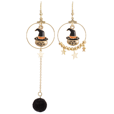 Halloween Vintage original star earrings PL40004