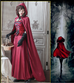 Halloween Little Red Riding Hood Shawl PL40005