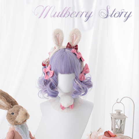 """mulberry Story"" mixed color wig PL20954"
