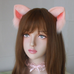 Plush cat ears PL21163
