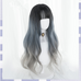 Blue gradient wig PL50142