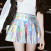 Laser pleated skirt PL50210