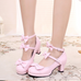 Sweet bow heels PL50457
