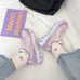 Ulzzang purple shoes PL50462