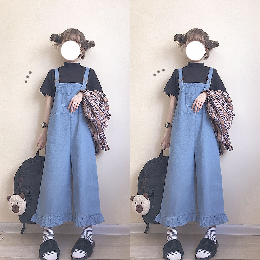 Denim overalls PL50469