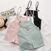 Fashion candy series jumpsuit shorts PL10018