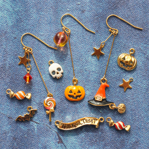 Halloween Magic Night Handmade Earrings PL40001