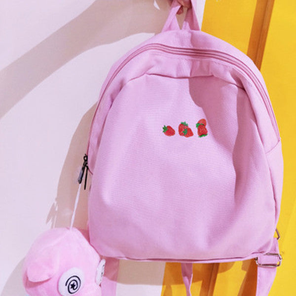Strawberry backpack   PL20007