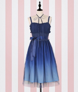 Lolita Star City Gradient Dress  PL20105