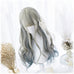 Summer night starry sky wave long hair PL10245