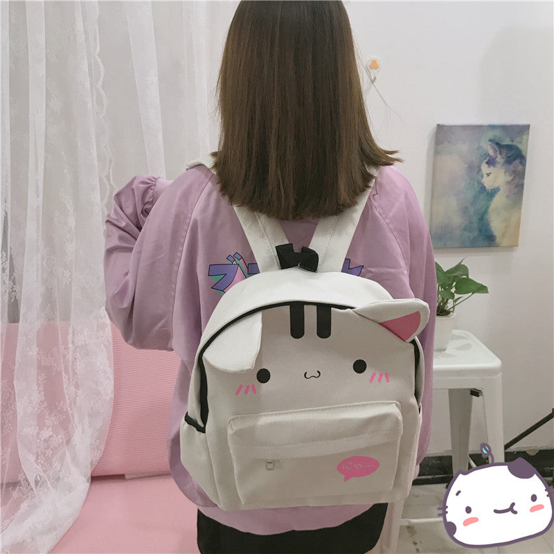 Cute cat rabbit backpack PL50453