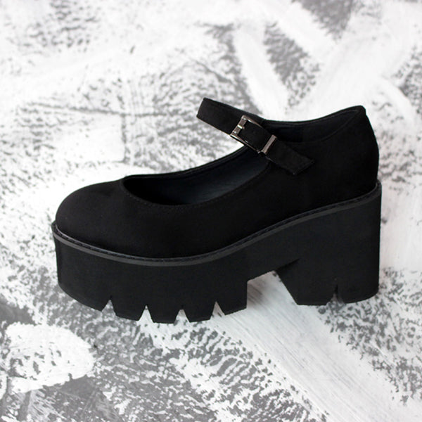 Japanese Lolita retro platform shoes PL10353
