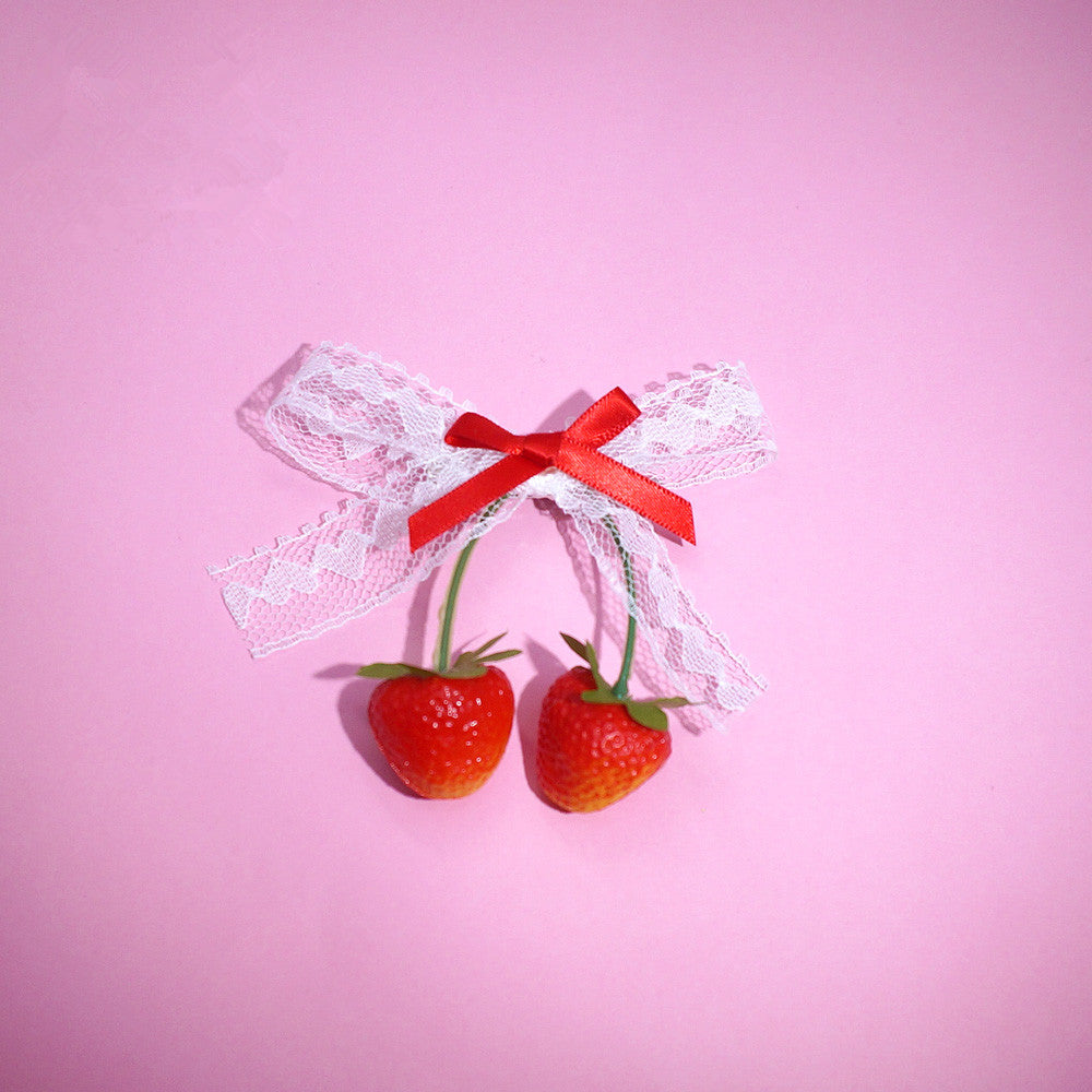 Lolita strawberry hairpin PL20358