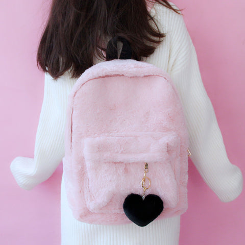 Cute plush backpack  PL21153